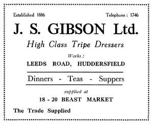 J.S. Gibson Ltd. (Established 1886)