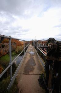 Brow Grains confluence sluice gate gears