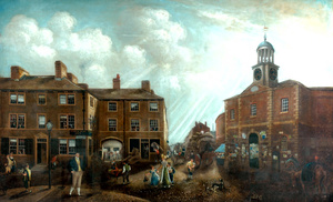 Cloth Hall and White Hart Inn