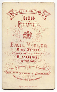 Emil Vieler of King Street