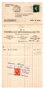 Fisher & Co Ltd. of Huddersfield.