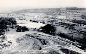 View from Castle Hill, Almondbury, Huddersfield