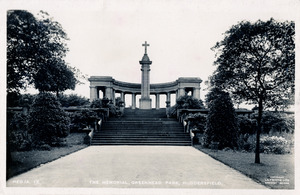 The Memorial, Greenhead Park, Huddersfield