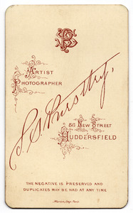 S.S. Priestley of 56 New Street, Huddersfield
