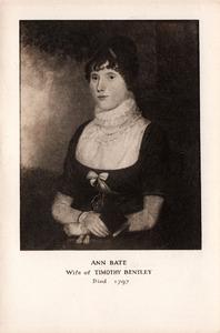 Ann Bate, Wife of Timothy Bentley, Died 1797.jpg