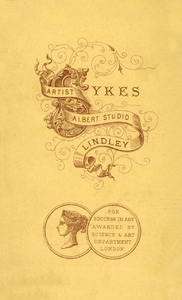 Sykes, Albert Studio, Lindley