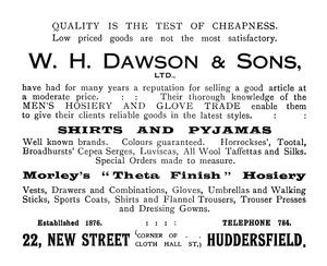 W.H. Dawson & Sons Ltd.