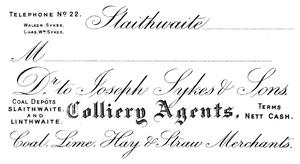 Joseph Sykes and Sons of Slaithwaite