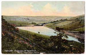 Ramsden Reservoir, near Holmfirth (Batley Corporation Water Supply).jpg