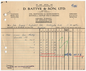 D. Battye & Son Ltd. of Huddersfield.