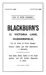 Blackburn's of Victoria Lane, Huddersfield.