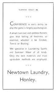 Newtown Laundry of Honley.