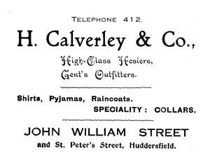 H. Calverley & Co.