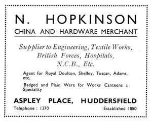 N. Hopkinson