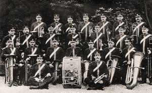 Meltham Mills Brass Band.