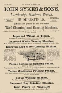 John Sykes & Sons, Turnbridge Machine Works