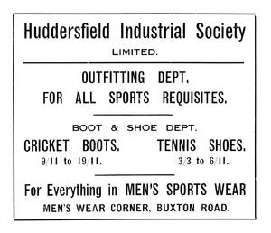 Huddersfield Industrial Society Limited of Buxton Road, Huddersfield.