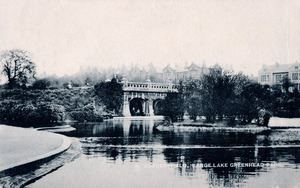 Large Lake, Greenhead Park, Huddersfield