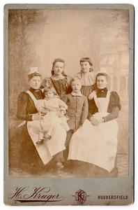 Jessie Louise Pyrah and siblings