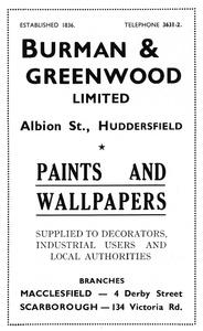 Burman and Greenwood Ltd.