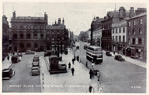Market Place and New Street, Huddersfield