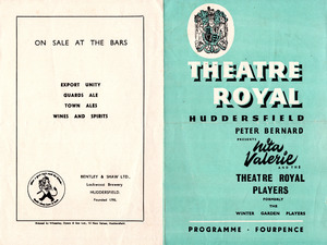 """Theatre Royal: """"Love from a Stranger"""" (1960)"""