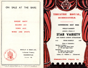 Theatre Royal: Star Variety and Famous London Attractions (1955)