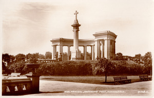 War Memorial, Greenhead Park, Huddersfield