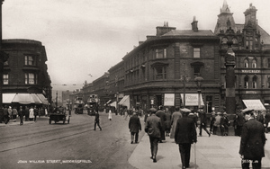 John William Street, Huddersfield posted 1927.jpg