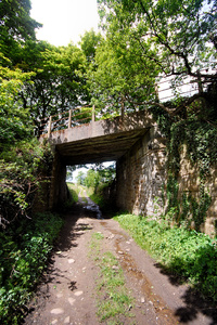 Meltham Branch Line bridge over bridleway