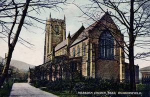 Marsden Church, Near Huddersfield
