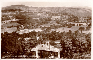 Castle Hill and Berry Brow, Huddersfield