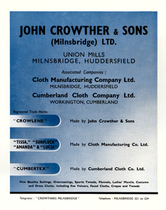 John Crowther & Sons Ltd.