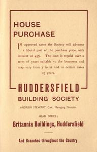 Huddersfield Building Society of Britannia Buildings, Huddersfield.