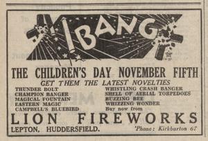 Lion Fireworks, Lepton
