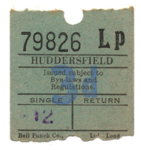 Huddersfield Bus Tickets.