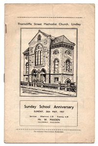 Thorncliffe Street Methodist Church, Lindley.