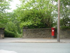 Victorian Post Box, Station Road, Holmfirth.jpg