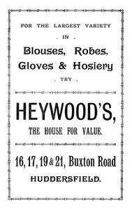 Heywood's of Buxton Road