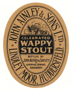 Wappy Stout beermat