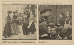 Suffragettes Play a Prominent Part in the Huddersfield Election - Daily Mirror 27 November 1906.jpg