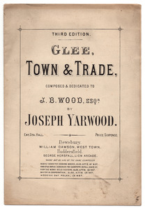 """""""Town & Trade"""", composed by Joseph Yarwood."""