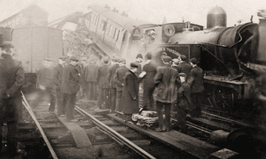 Railway Collision at Huddersfield, Good Friday April 21st 1905