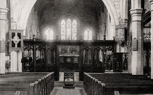 Interior of St. Bartholomew, Meltham