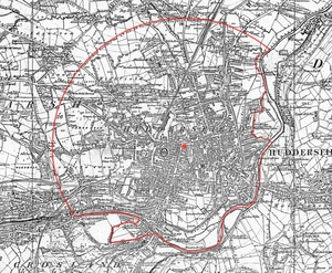 Improvement Boundary (1854 OS 246 map)