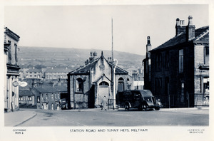 Station Road and Sunny Heys, Meltham