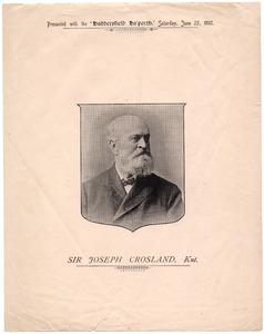 Sir Joseph Crosland (1826-1909).