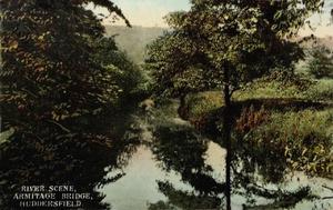 River Scene, Armitage Bridge, Huddersfield.jpg