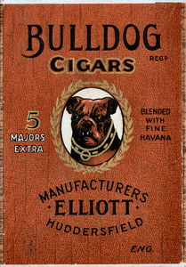 Elliott's Bulldog Cigars