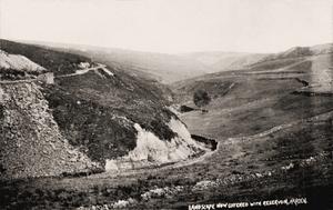 Harden near Dunford Bridge & Holmfirth. Reservoir Landscape by Bamforth.jpg